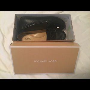 Michael Kors leather Suki Moc shoe size 8M
